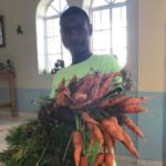 Working to end hunger …. one garden at a time.